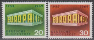 Germany #996-7 MNH VF  (B4578)