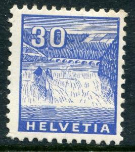 SWITZERLAND # 225 Very Fine Heavy Hinged Issue - RHINE FALLS - S6273