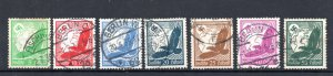 Germany Airmail 1934 #C46-C52 VF *USED*