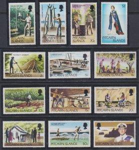 Pitcairn Islands 163-173 MNH (1977-1981)