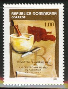DOMINICAN REPUBLIC Scott 1044 MNH** Pharmacy stamp