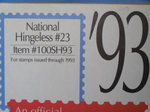 Scott National supplement Hingeless #23 1993 new