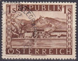 Austria #496  F-VF Used   CV $4.00  Z133