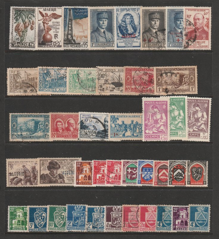 Algeria ( French) a small collection