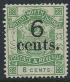 North Borneo  SG 55 Mint  OPT  please see scans & details