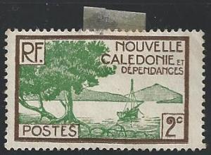 New Caledonia #137 2c Bay