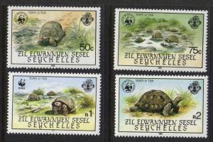 Seychelles-Zil Elwannyen Sesel #106-9 mint, WWF issue