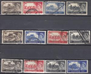 Great Britain - 1955/1968 QEII Windsor stamp collection (466N)