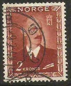 Norway Used Sc 277 - King Haakon VII