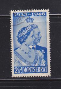 Montserrat 104-105 U King George VI Silver Wedding Issue