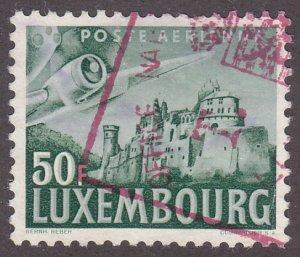 Luxembourg C15 Vianden Castle 1946
