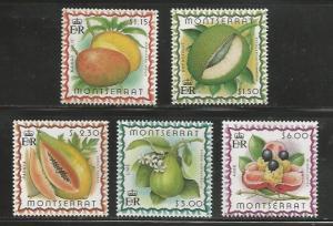 Montserrat MNH sc# 984-8 2012CV $14.25