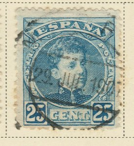A5P62F33 Spain 1901-05 25c used