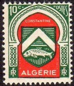Algeria 210 - Mint-H - 10c Arms of Constantine (1947)