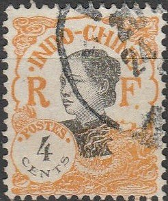 Indo-China, #101  Used From 1922-23