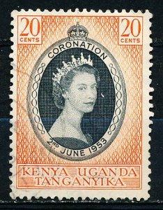 Kenya Uganda & Tanzania #101 Single Used