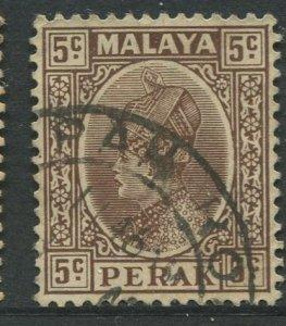 STAMP STATION PERTH Perak #72 Sultan Iskandar  Wmk 4 Used 1935-37