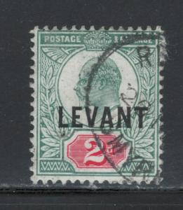 Great Britain Offices Turkish Empire 1905 Overprint 2p Scott # 18 Used