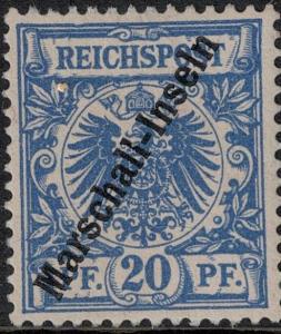 Marshall Islands SC 4 Mint 1897 SCV$ 50.00