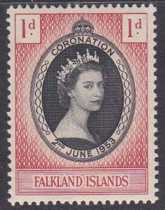Falkland Islands Sc #121 Mint Hinged; Mi #116
