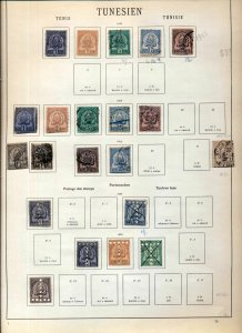 TUNISIA 1888/1930 M&U Collection Incl.Dues Airs(Appx 120)NS 86