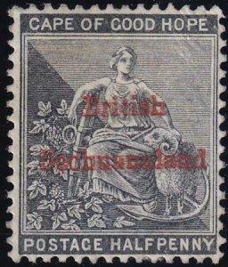 Bechuanaland 1885-1887 SC 4 MLH