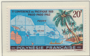 French Polynesia Stamp Scott #198, Mint Hinged - Free U.S. Shipping, Free Wor...