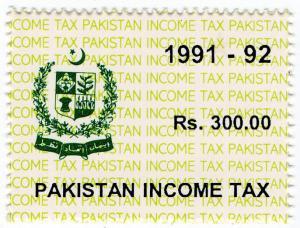 (I.B) Pakistan Revenue : Income Tax 300R