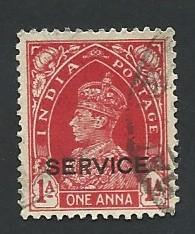 India Scott #O99 1A King George VI used