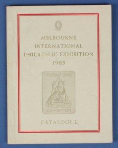 AUSTRALIA : Melbourne International Philatelic Exhibition 1963 (MIPEX) Catalogue
