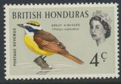 British Honduras SG 241 SC # 170a MLH  Birds Kiskadee  see scans