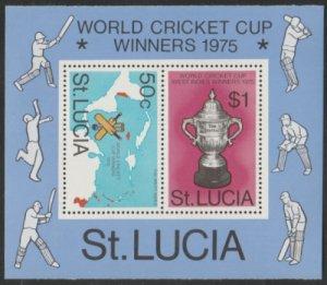 St Lucia #404a MNH Souvenir Sheet cv $5