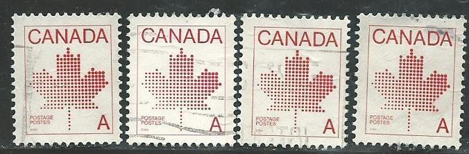 Can #907   -4  used VF 1981 PD