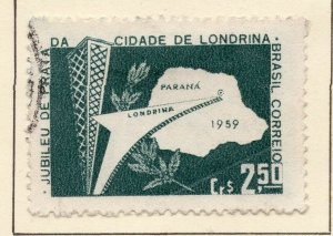 Brazil 1959 Early Issue Fine Used 2.5Cr. NW-98377