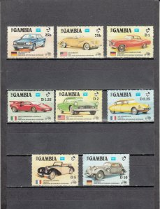 GAMBIA 620-627 MNH 2014 SCOTT CATALOGUE VALUE $6.40