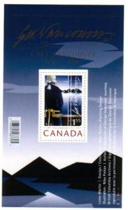Canada - #2219A   CAPTAIN GEORGE VANCOUVER S/S - MNH