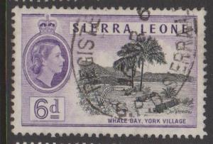 Sierra Leone Sc#201 Used