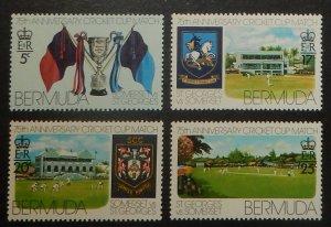 Bermuda 343-46. 1976 Cricket Club Matches anniversary