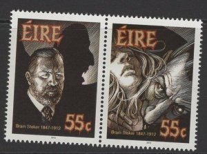 IRELAND SG2114a 2012 DEATH CENTENARY OF BRAM STOKER MNH