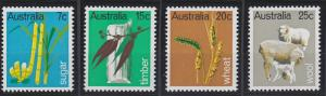 Australia 462-465 MNH (1969)