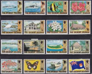 Gilbert  Islands 269-284 Gilbert Island Scenes 1976