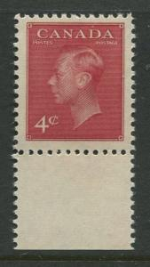 Canada - Scott 287 - General Issue - 1949 - MNH - Single 4c Stamp