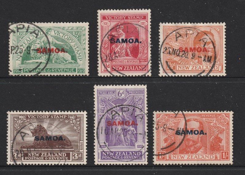 Samoa the used 1920 Victory set