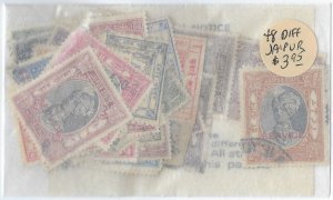 48 different Jaipur Stamps packet