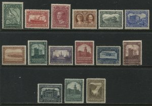Newfoundland 1928 complete set mint o.g. hinged