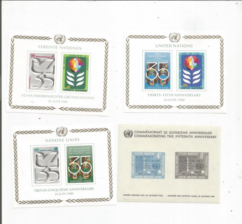 UNITED NATIONS S/S COLLECTION, MNH, OG