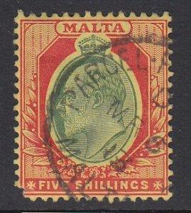 MALTA, Scott 41, used (pulled corner)