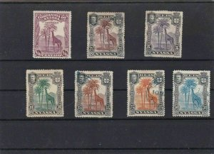 NYASSA  STAMPS ON  STOCK CARD  REF R841