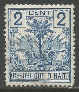 HAITI 27 VFU ARMS Y093-1