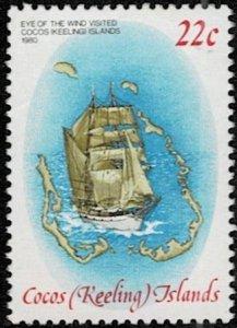 Cocos Island 1980 Operation Drake Used